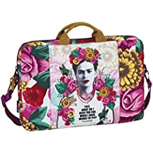 "Safta 661646461 - Funda ordenador 15,6"", con estilo Frida Kahlo"