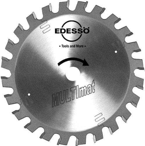 Edessö 13616520 HM-Kreissägeblatt Profi-Akku Spezialzahn HW 165x1,8/1,2x20 Z=36 SWZ, Silber