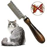 Onebarleycorn - Peine de pulgas para Cuidado de Mascotas, Elimina pulgas y piojos y Suciedad en Tus Mascotas, Gatos y Perros, eliminador de Insectos