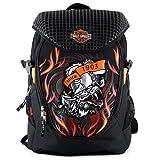 Harley Davidson Sac à Dos Enfants 46 cm Multicolore (Noir/Orange)