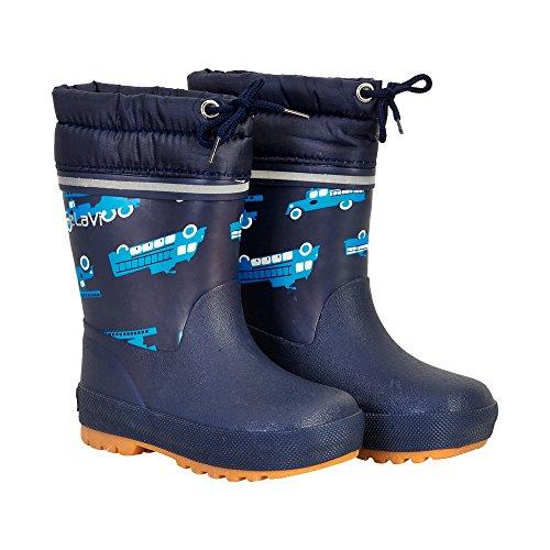 CELAVI , {Chaussures premiers pas pour bébé (garçon) bleu 30 Bleu