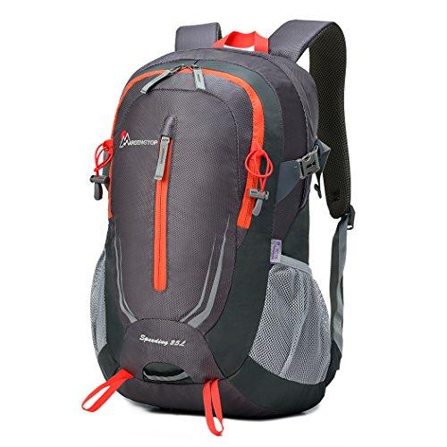Mardingtop 25L Rucksack für Camping / Wandern / Reisen / Schultasche, mit eine Regenabdeckung