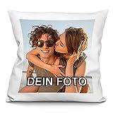 PhotoFancy® - Kissen mit Foto Bedrucken - Fotokissen selbst Gestalten (Fotokissen 40 x 40 cm)