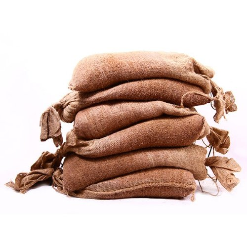 Set Of 6 Filled Hessian Sandbags - FREE Delivery On All Filled Sand Bags