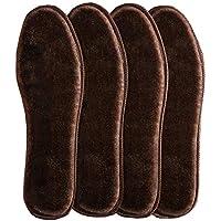 6 Paar Drak Brown Einlegesohlen Damen und Herren warme flauschige Einlegesohlen preisvergleich bei billige-tabletten.eu