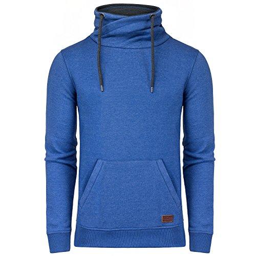 BLEND Herren Sweatshirt Pullover Blau