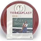 Caleido-Concept TERRAPLAST Wasserschlauch PVC Ziegelrot, 1/2