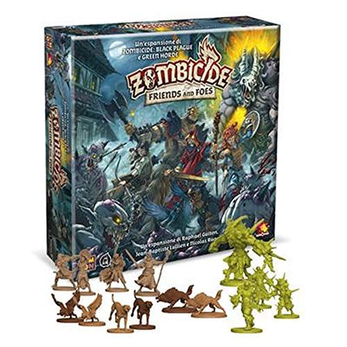 Asmodee Italia Zombicide Green Horde-Friends and Foes