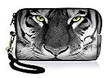 Silent Monsters 1005002013 Neopren Universal Kameratasche für Kompaktkamera Tiger