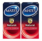 Mates by Manix Natural Condoms, Pack of 28