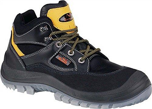 Stivali di sicurezza S3taglia 48NERO Remis Berg Tibet Pelle Bovina
