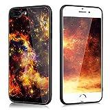 Slynmax Coque iPhone 8 Plus Verre Trempé,iPhone 7 Plus Coque Slim, Étoiles...