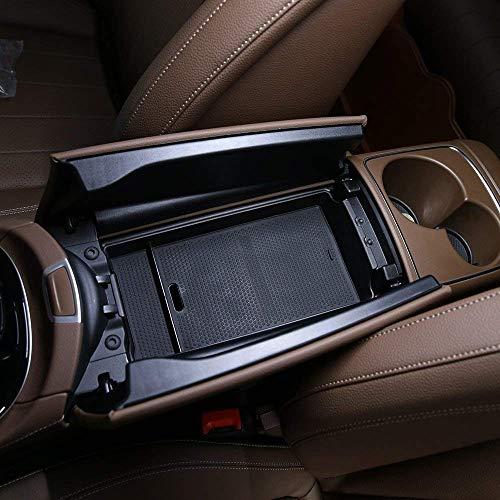 Caja de almacenamiento de plástico en el interior del guante del apoyabrazos del ABS Accesorios del coche para la clase W213 2016-2018 de E