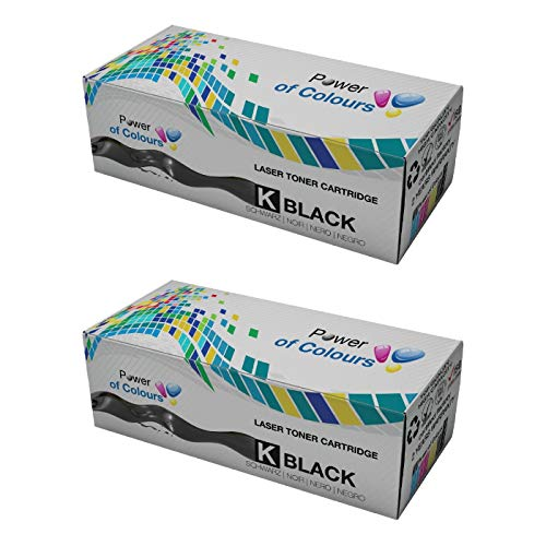 2 TOP QUALITAT Kompatible Schwarz Laser Toner Cartridge fur DELL Drucker 5100 5100cn -