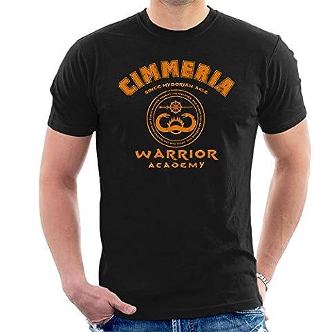 Cimmeria Warrior Academy Conan The Barbarian Men's T-Shirt