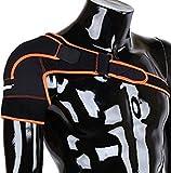 ZJchao - Peso leggero Gym Sport - Tutore per spalla regolabile per uomo e donna