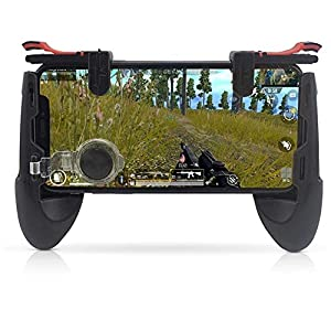 Vernwy Mobile Game Controller-Mobile Controller Mit Gamepad, Gaming-Trigger Und Joysticks Für 4.5-6.5Inch Android IOS Phones