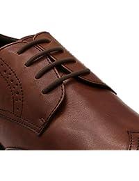 inmaker no tie cordones zapatillas de para vestido de mujer, elástico Oxford cordones para adultos y jóvenes