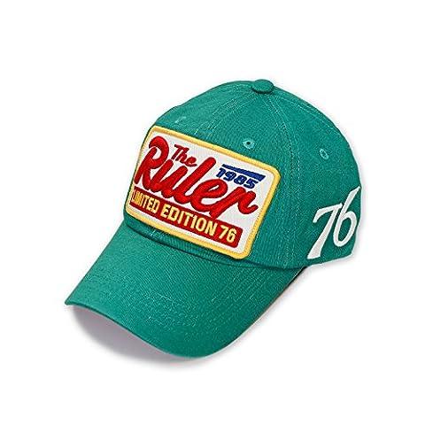 Niki orange casquette de baseball avec logo the ruler limited