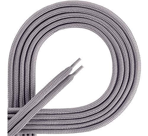 Ladeheid Lacci da Scarpe in 100% Poliestere LAKO1001 (Grigio165, 70cm)