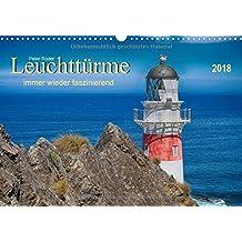 Leuchtürme - immer wieder faszinierend (Wandkalender 2018 DIN A3 quer): Leuchttürme, faszinierende Bauwerke und leuchtende Navigationspunkte für die ... (Monatskalender, 14 Seiten ) (CALVENDO Orte)