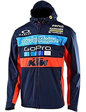 Chaqueta Troy Lee Designs KTM Pit Team Azuloscuro