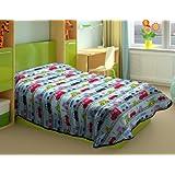 Burrito Blanco - Edredón Dorm 129 para cama de 90x190/200 cm, color celeste