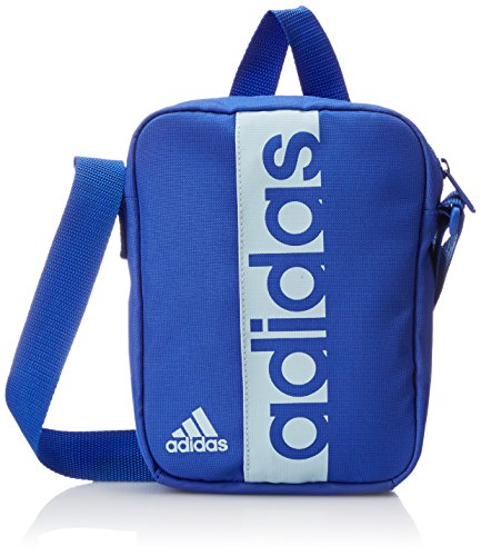 adidas Linear Performance Organizer Trainingstasche, hi-Res Blue s18/Blue Tint s18, 21 x 15 x 5 cm
