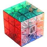 Creation® Transparente YJ Yulong cubo de la velocidad 3x3 Stickerless Velocidad Cubo Rompecabezas