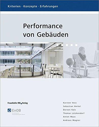 Performance von Gebäuden: Kriterien, Konzepte, Erfahrungen. (Beleuchtung Architektonische)