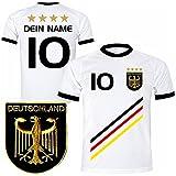 Deutschland Trikot mit GRATIS Wunschname