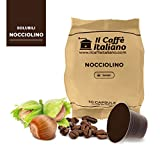 50 capsule compatibili Nespresso - 50 capsule gusto Nocciola compatibili macchina caffè Nespresso - Macchina caffè Nespresso kit 50 capsule compatibili gusto Nocciola - Il Caffè Italiano