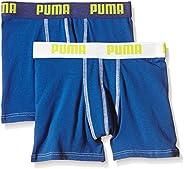 PUMA Basic Boxer 2p Calzoncillo Niños (Pack de 2)