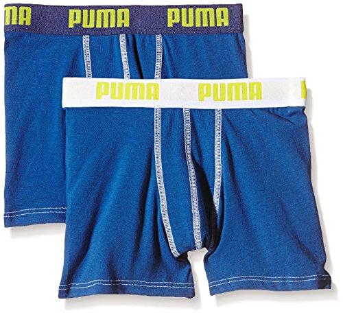 PUMA Jungen Bodywear Basic Boxer 2P True Blue