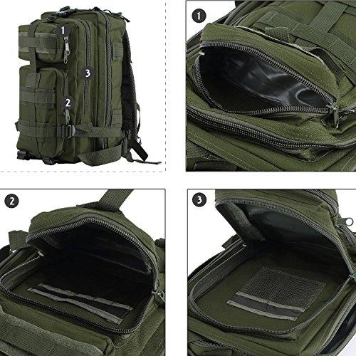 Militär-Rucksack inklusive Trinkblase grün - grün