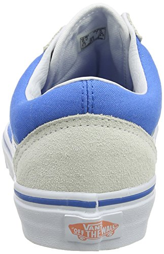 Vans Ua Old Skool, Scarpe da Ginnastica Basse Donna Blu (French Blue/true White)