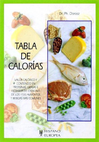 Descargar Libro Tabla de calorías (Tablas de alimentos) de Ph. Dorosz