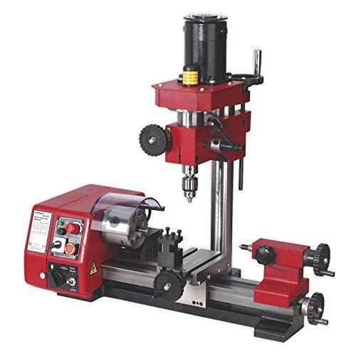 Sealey SM2503 Mini Drechselbank Und Bohrmaschine
