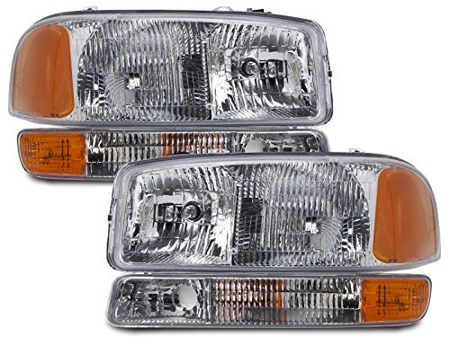 gmc-yukon-sierra-4-piece-headlights-set-w-park-signal-lights-by-headlights-depot