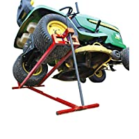 ACHATPRATIQUE Lawn mower lifter | Telescopic Lawn mower jack | Space saving 30% compare to others | 900lbs max | NEW