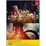 Adobe Photoshop Elements 15 & Premiere Elements 15 [version complète réservée aux étudiants et enseignants] [Téléchargement Mac]