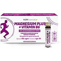 Magnesio Líquido de HSN Essentiales | 375mg a partir de Sulfato + L-pidolato + Citrato de Magnesio | Con 1,4mg.