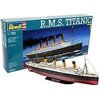 Revell- R.M.S. Titanic Kit di Montaggio, Colore Multicolore (Grey Camouflage), 05210