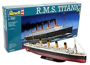 Revell- RMS Maqueta R.M.S. Titanic, Kit Modello, Escala 1:700 (5210) (05210)