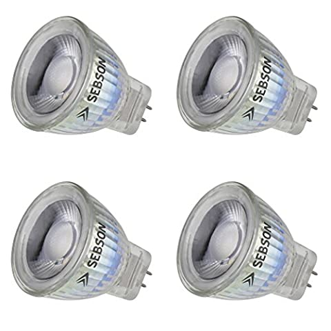 Ampoule Mr11 12 V - SEBSON® 4x Ampoule LED GU4 / MR11