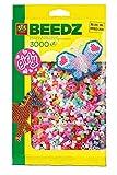 SES-Creative 777 Perle da Stirare Assortite Pastello, 3000 Pezzi