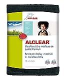 ALCLEAR 950003a Chiffon Microfibre Ultra pour Écran de Qualité Premium, Anthracite, 19x14 cm Lot de 1