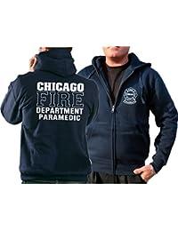 Survêtement à capuche bleu marine, Chicago Fire Department–PARAMEDIC