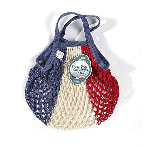 Filt Einkaufsnetz/Einkaufstasche/Netztasche/Net Bag aus Baumwolle, small Size, (bunt)