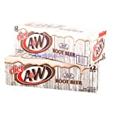 Product Image of Diet A&W Root Beer 12oz (355mL) - 24 Pack